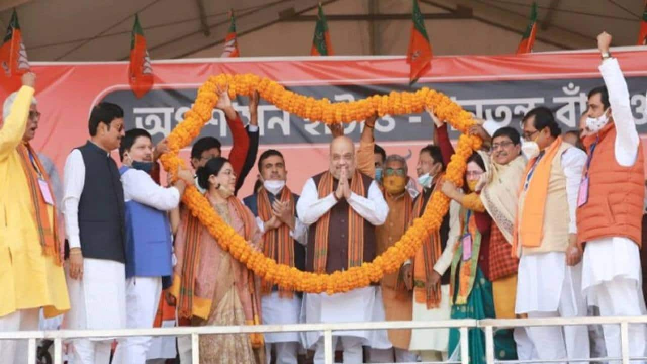 West Bengal assembly polls 2021| Focus on booths to wooing women voters,  BJP's election strategy in 5 points