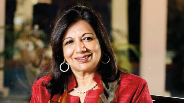 Biocon chief Kiran Mazumdar-Shaw compares COVID vaccination situation in India to arranged marriage