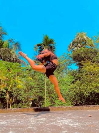 This year, she joined up for formal dance classes in Siliguri, a distance of more than 150 km away. It takes six hours one way in a bus to get there, and Mili takes her mother along.