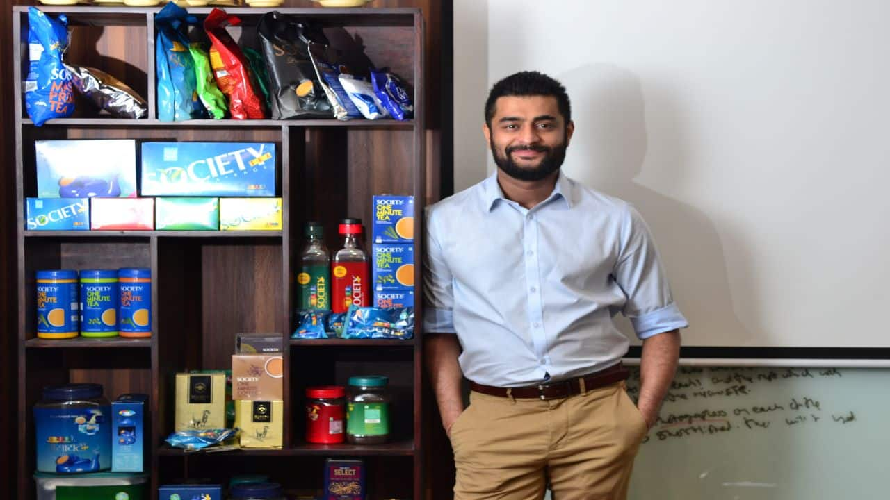 Society Tea striving to become a national brand, says Director Karan Shah
