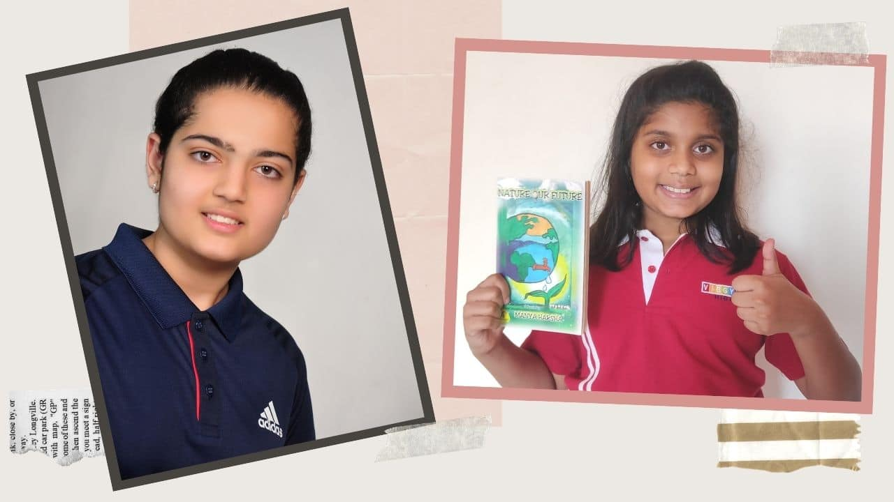 These two child authors are raising important issues through their books