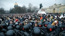 3,000 arrested at protests demanding Alexei Navalny's release in Russia