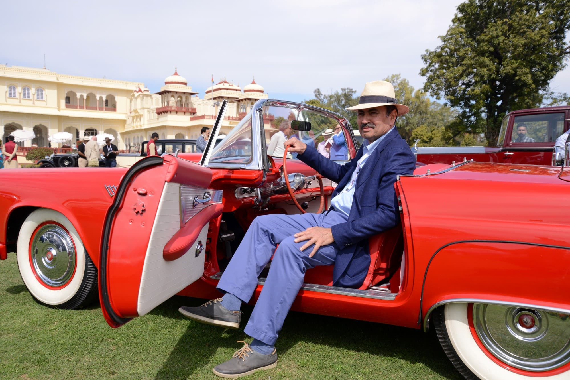 Cartier Travel With Style Concours d'Elegance, Curator- Rana Manvendra Singh of Barwani.