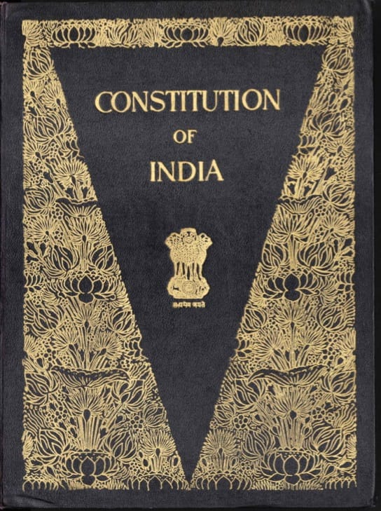 The Constitution of India is the longest hand written Constitution of any country in the world.