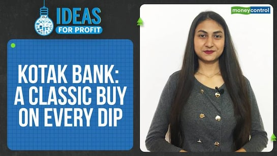 Ideas For Profit | Why Kotak Bank is a stock to buy on every decline