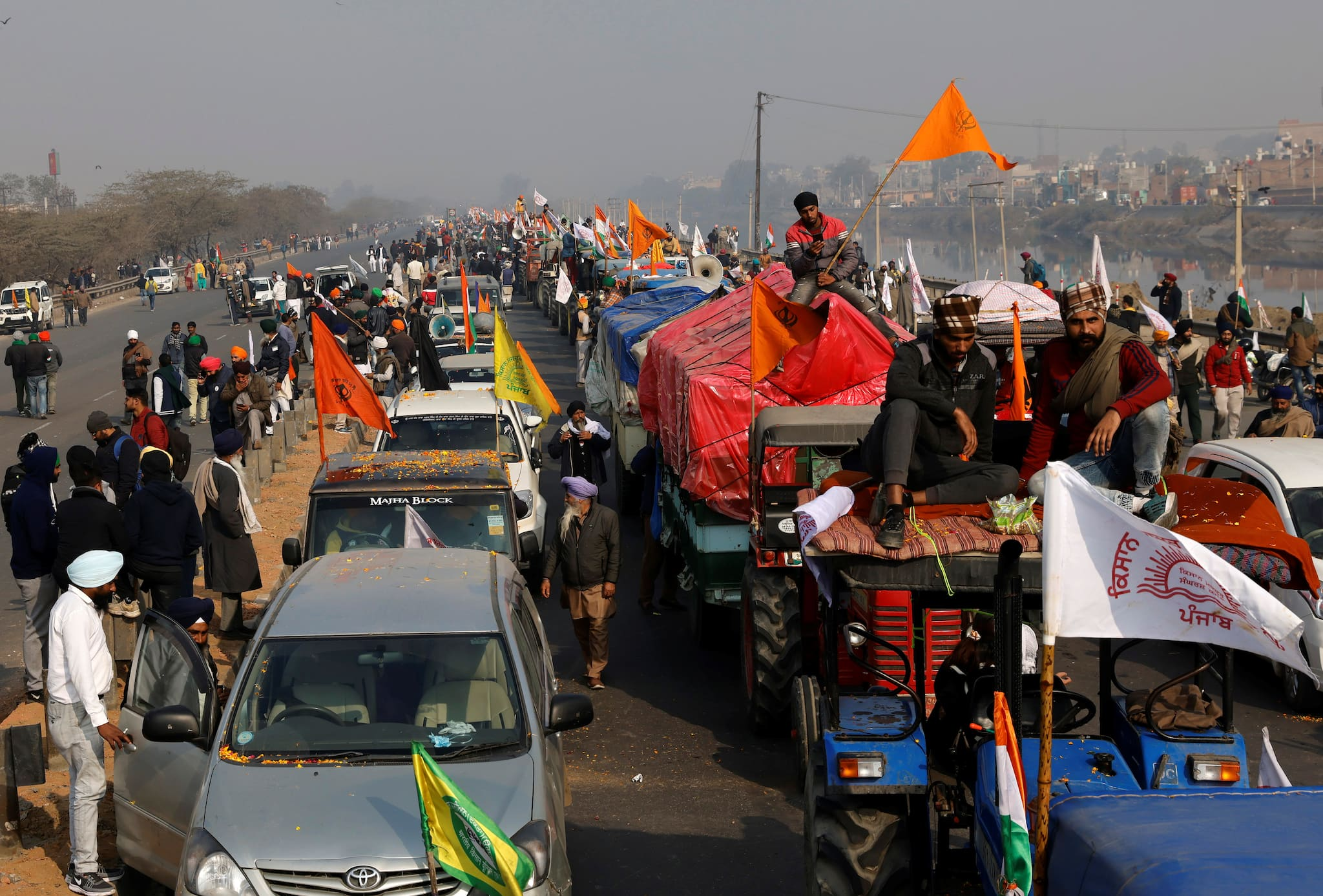 In Pics | Farmers' Protest Rally On Republic Day 2021