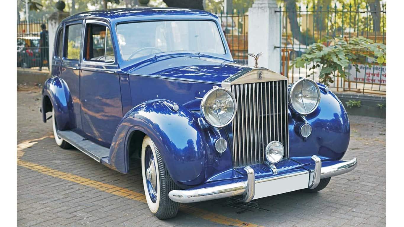 Rolls Royce Silver Wraith 1947.