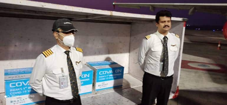 Air India transports first consignment of Bharat Biotech vaccine Covaxin - Moneycontrol