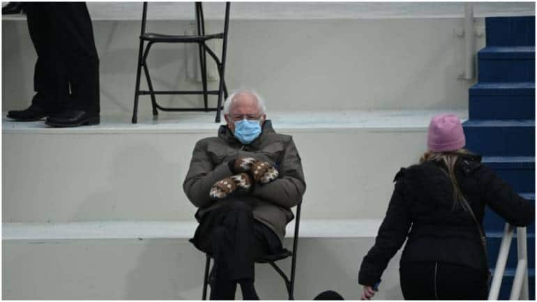 Sanders Is Once Again The Star Of A Meme