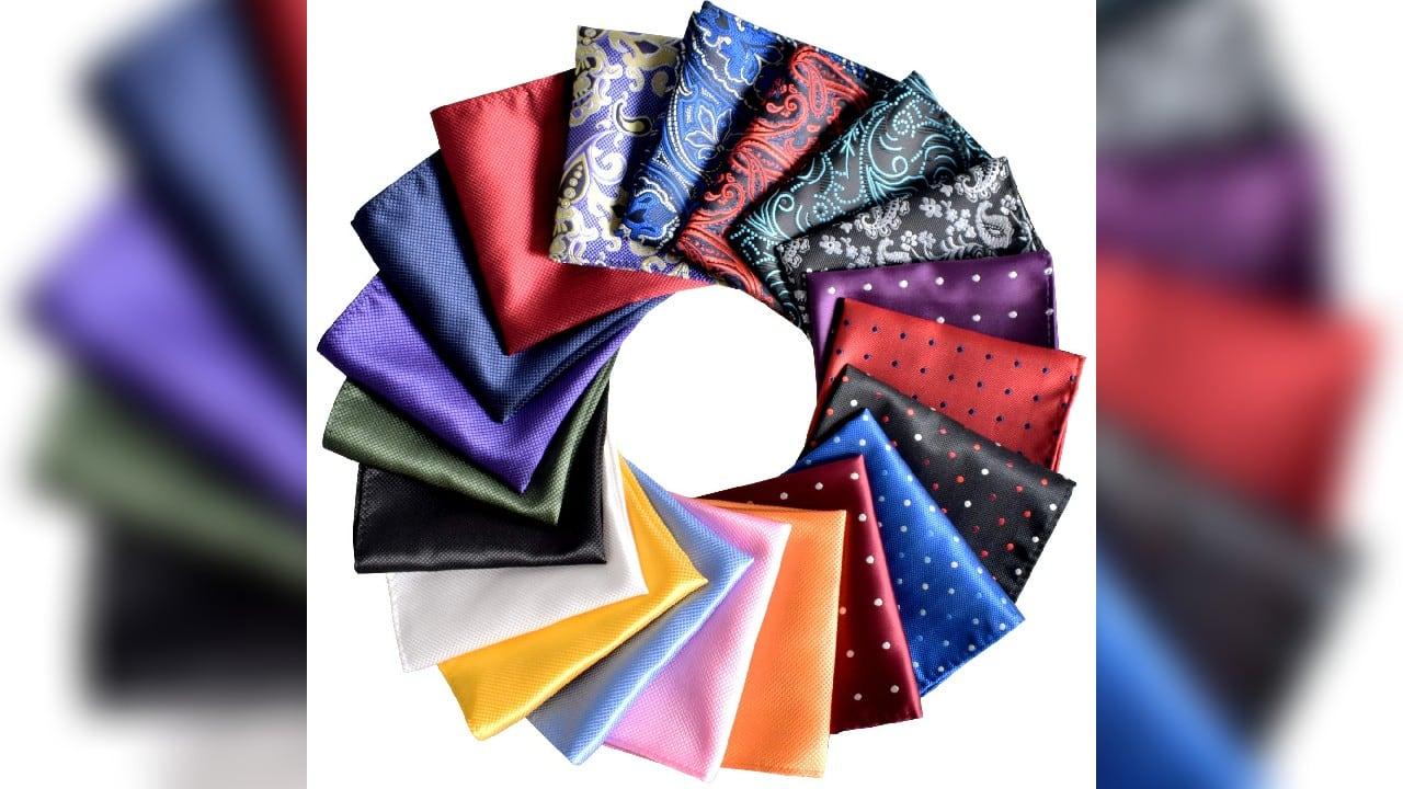 13 pocket square suit