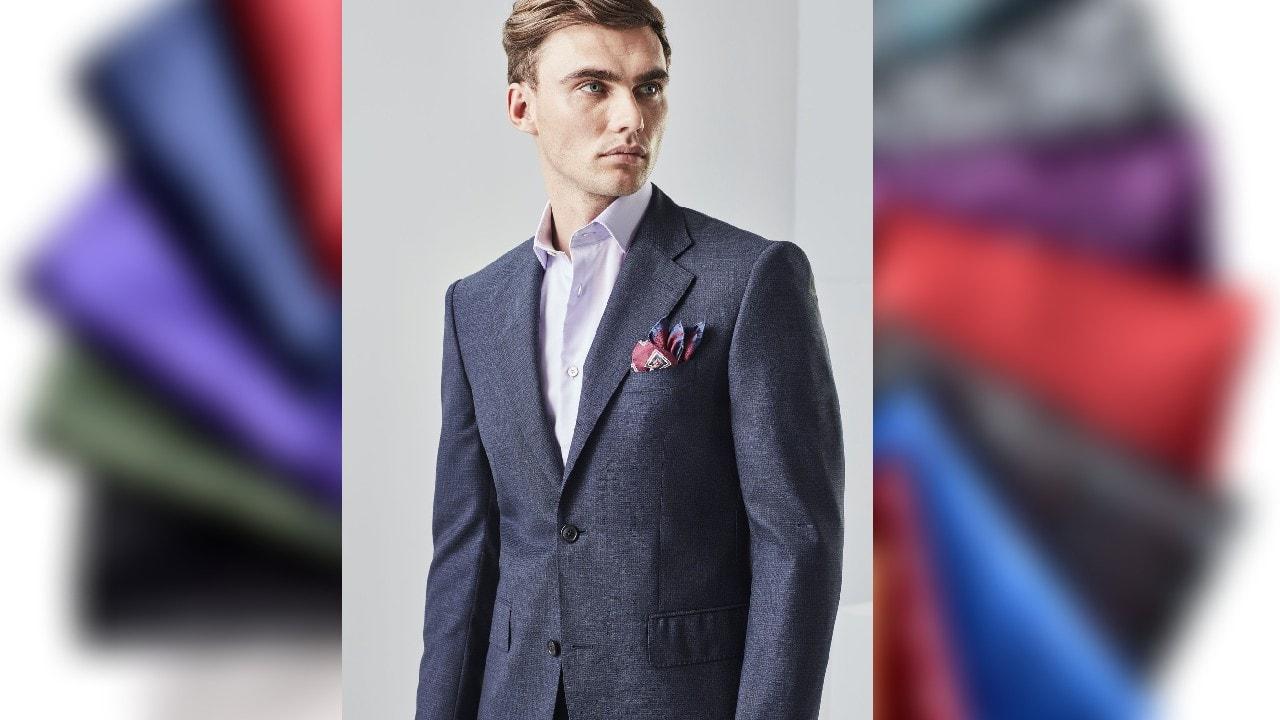 6 pocket square suit