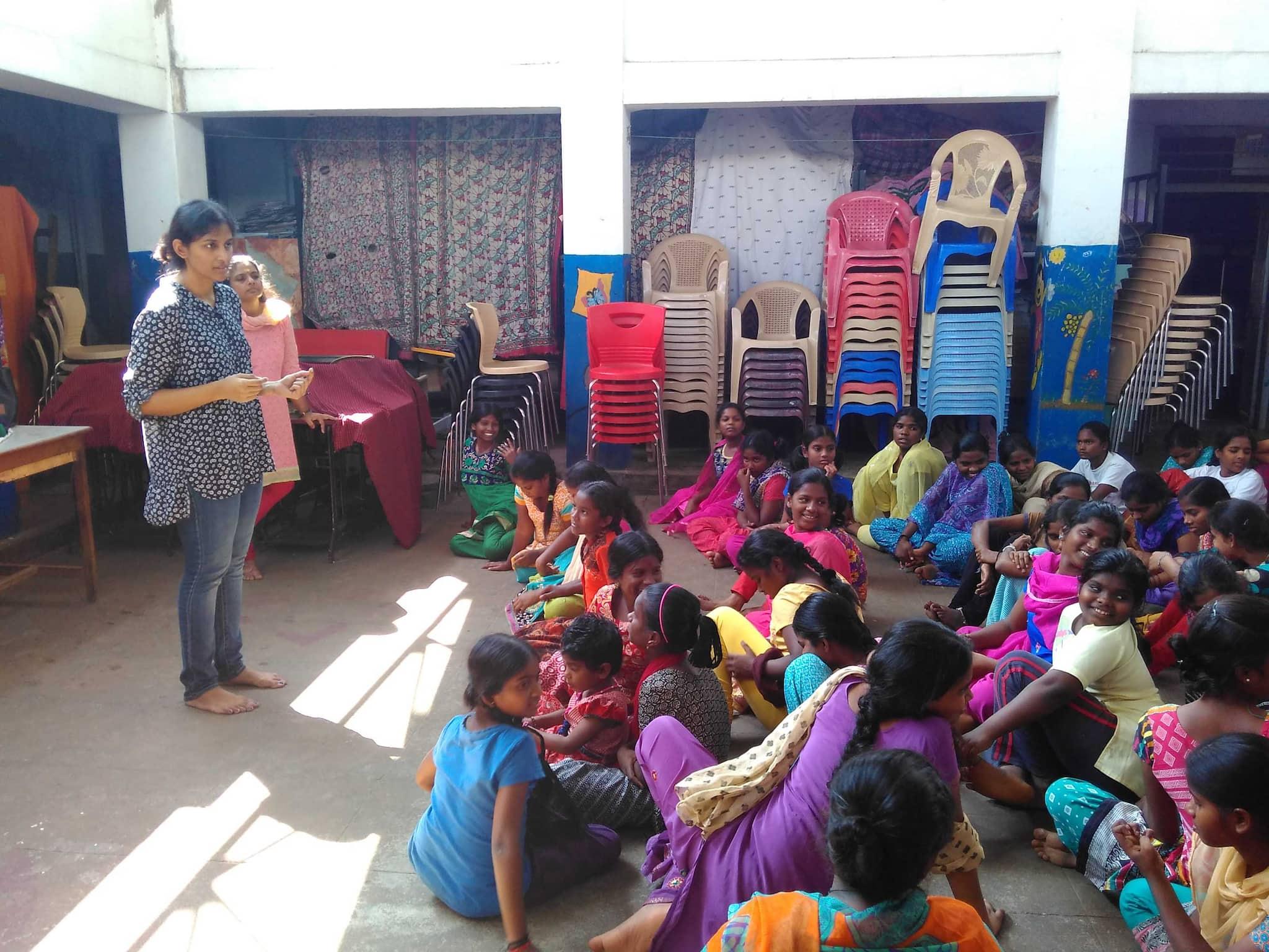 Kirthi Jayakumar at class 2