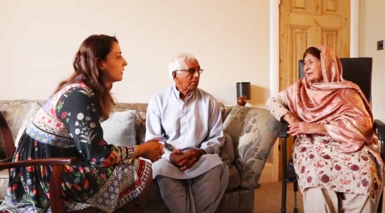 Project Dastaan Interviewing Ali Phambra and Jannat bibi, 2019