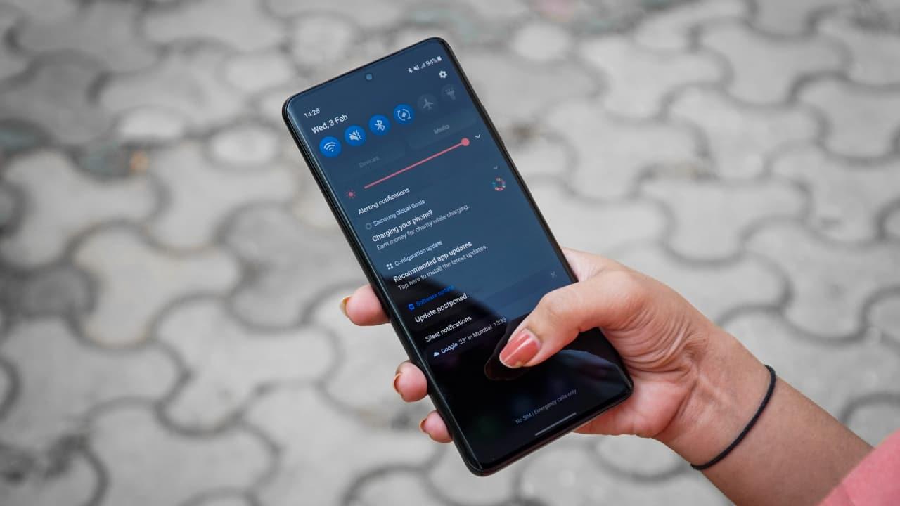 Samsung Galaxy S21 Ultra (Image: Pranav Hegde)