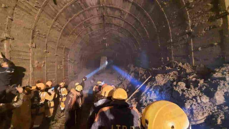 Image result for uttarakhand tunnel