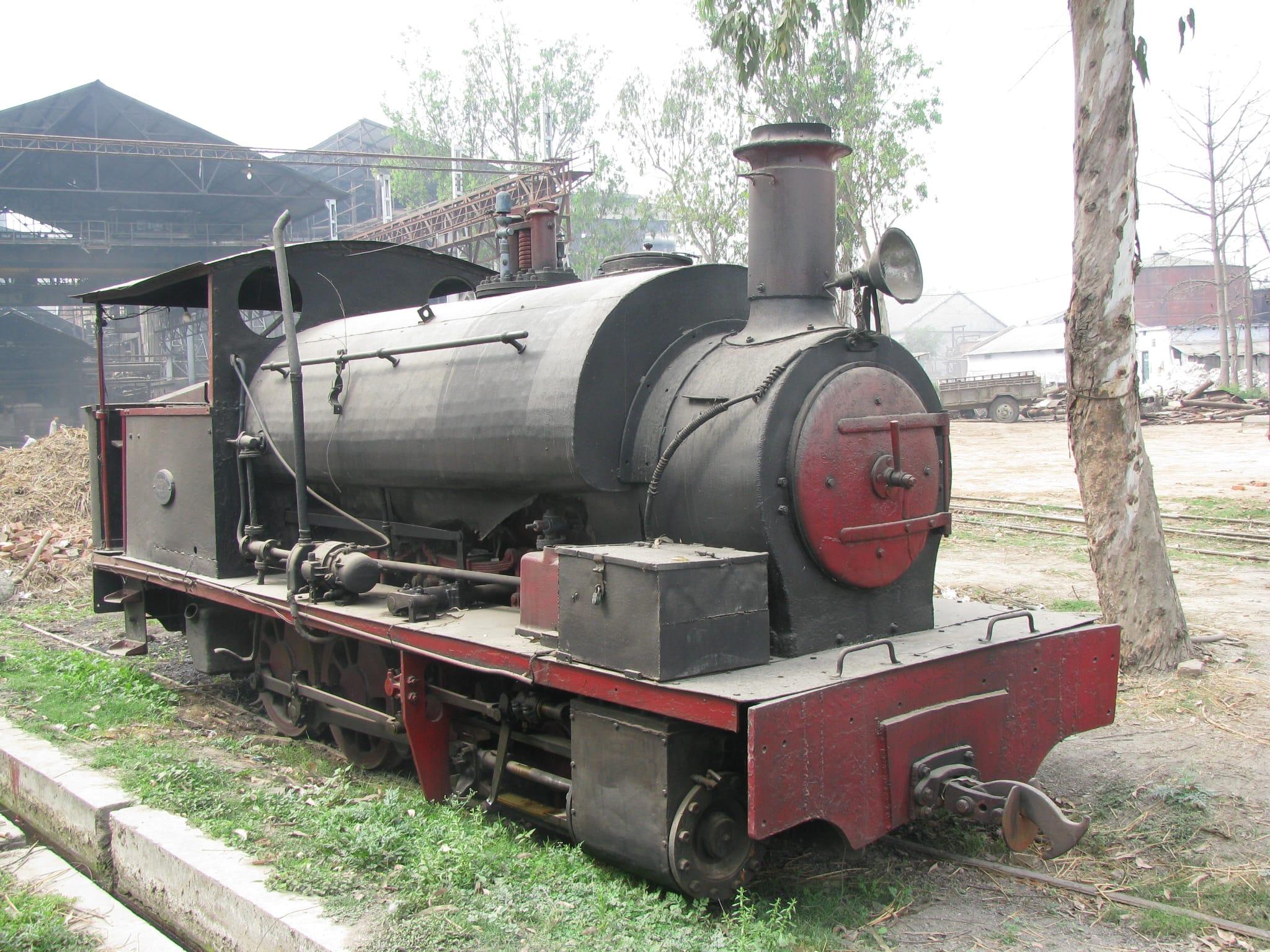 1930 built NG loco. Hudswell Clarke & Co.. No 1644. Riga Sugar mill, Sitamarhi.