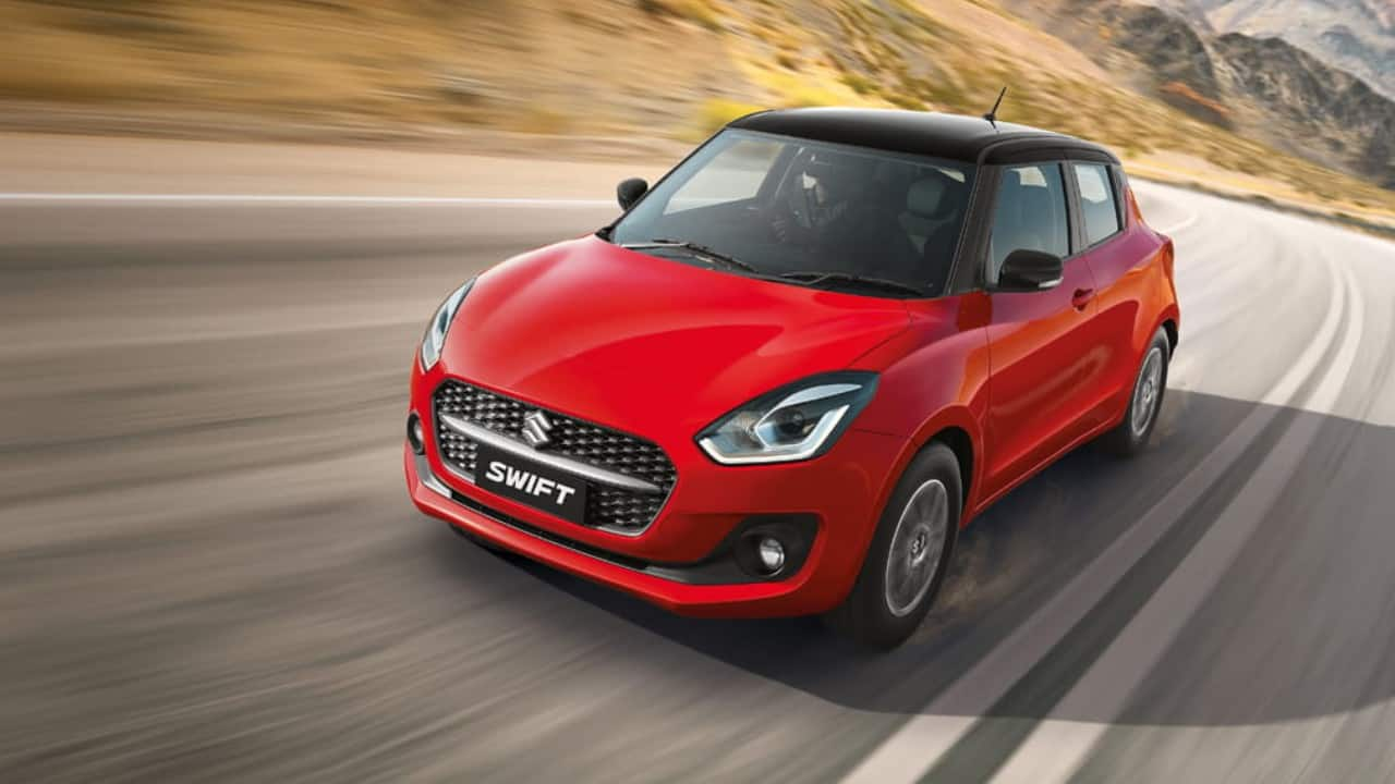 At city speeds, it's completely effortless to drive the 2021 Maruti Suzuki Swift.