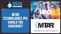 Ideas For Profit | MTAR Technologies IPO: Should you add this stock to your portfolio?