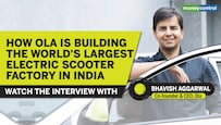Watch: Founder Bhavish Aggarwal on how Ola is building the world's largest electric scooter factory in India