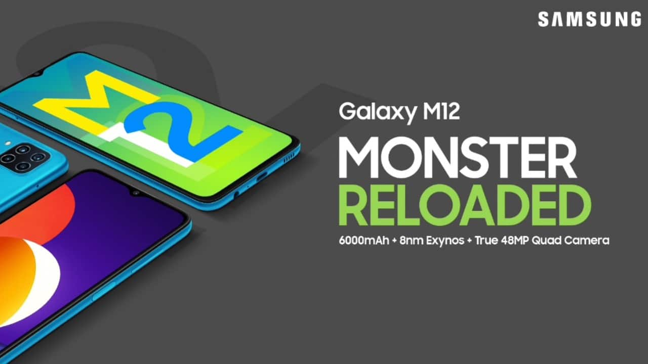 Samsung Galaxy M12 launched in India with 90Hz display, 6000 mAh battery for Rs 10,999