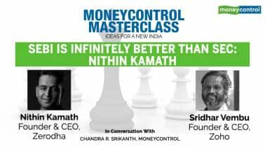 Moneycontrol Masterclass | Sebi is infinitely better than SEC: Zerodha founder Nithin Kamath