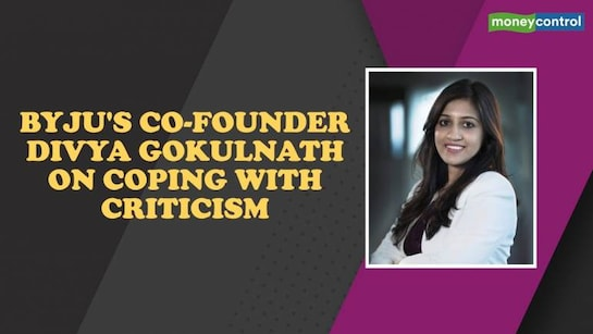 Byju's co-founder Divya Gokulnath on coping with criticism