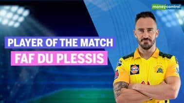 IPL 2021: KKR vs CSK | Player of the Match: Faf du Plessis