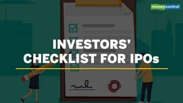 Investors' checklist for IPOs