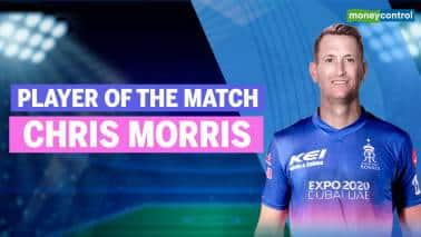 IPL 2021: DC vs RR | Player of the Match: Chris Morris