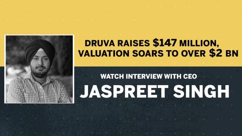 Druva raises $147 million, valuation soars to over $2 billion: Watch CEO Jaspreet Singh