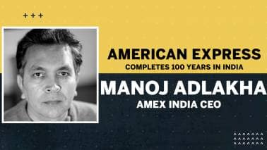 American Express completes 100 years in India: Interview with Amex India CEO Manoj Adlakha