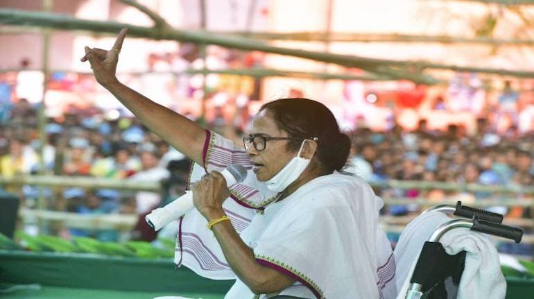 File image of West Bengal CM Mamata Banerjee (Image: PTI)