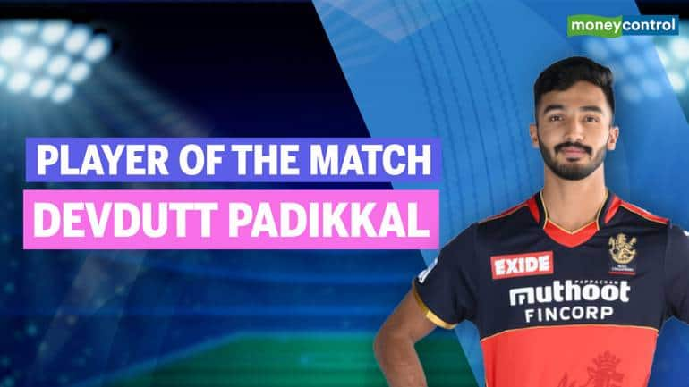 IPL 2021 RCB vs RR | Player of the match: Devdutt Padikkal