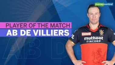 IPL 2021: RCB vs KKR | Player of the match: AB de Villiers