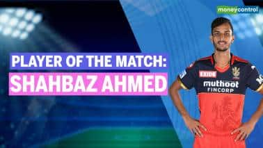 RCB vs SRH | IPL 2021 Player of the Match: Shahbaz Ahmed