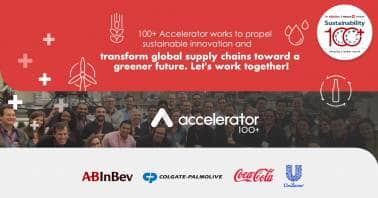 AB InBev 100+ Accelerator partners with The Coca-Cola Company, Colgate-Palmolive and Unilever for Sustainable Startup Innovation