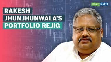 Watch: Rakesh Jhunjunwala's latest portfolio recast