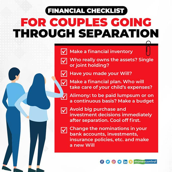 Financial-checklist-for-couples-going-through-separation