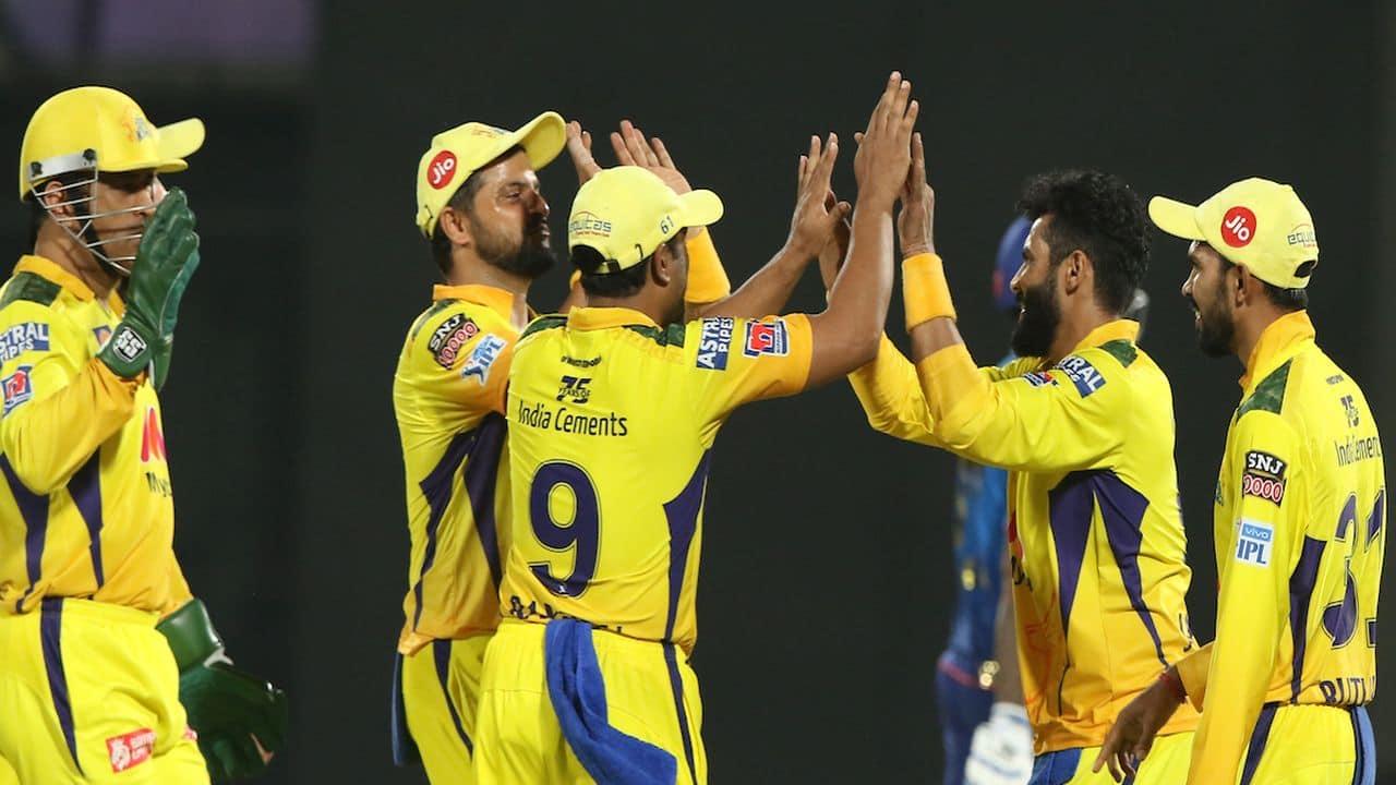 Ravindra Jadeja dimissed Suryakumar Yadav on just 3 runs. (Image: IPL/BCCI/Twitter)
