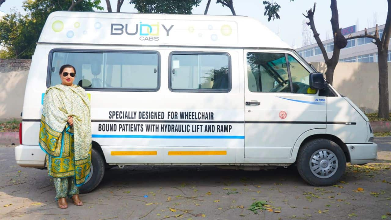 Her wheelchair-enabled cabs help the elderly and disabled go to the hospital or market