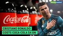 Cristiano Ronaldo moves coke bottles & endorses water; Coca-Cola loses $4 bn