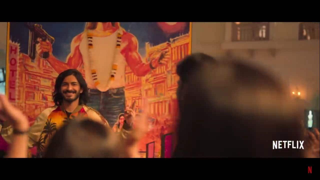 Harshvardhan Kapoor in 'Spotlight', directed by Vasan Bala. (screen shot)