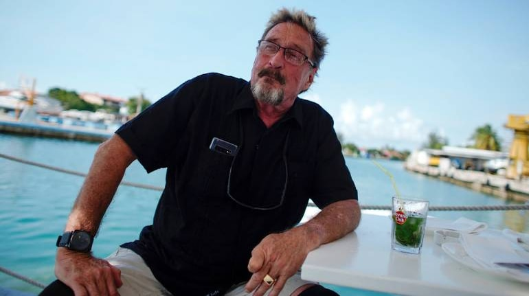 John McAfee, Larger-than-life Software Mogul, Dies In Spain By Suicide,  Lawyer Says