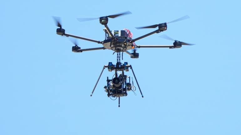 Government grants drone use permission to 10 organisations