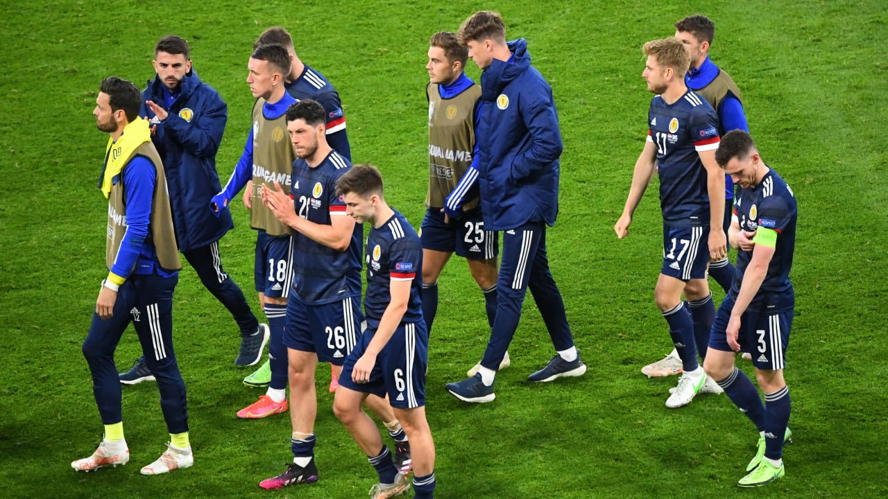 After ending a 23-year wait just to qualify for a major tournament, another historic feat was beyond Steve Clarke's men who were undone by a moment of magic from Modric. (Image: Reuters)
