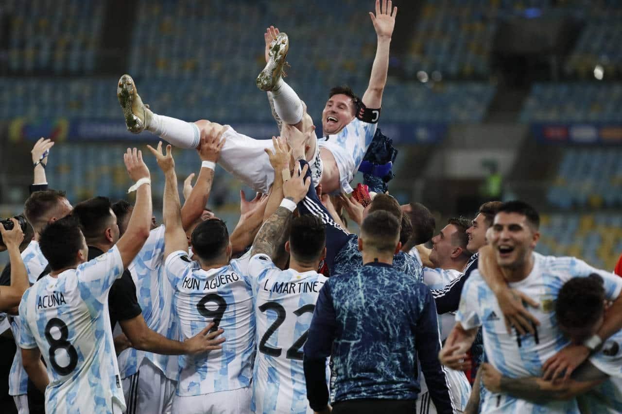 Copa America 2020 Final: Argentina & Messi are South America champions after Di Maria scores