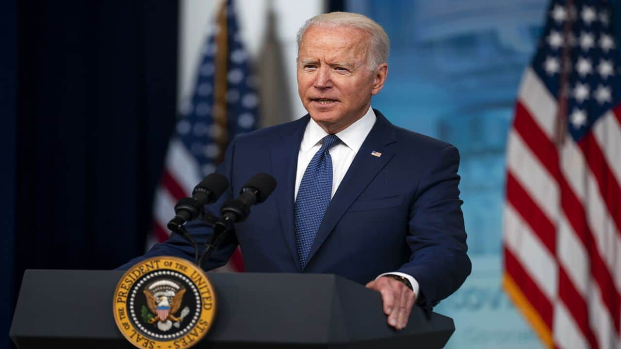 'Mr Prime Minister, we're going to continue to build on our strong partnership': Joe Biden