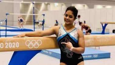 Pranati Nayak is only the second Indian woman gymnast to qualify for the Olympics. (Image: Wikipedia)