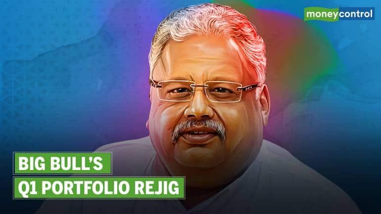 Watch: A Breakdown of Rakesh Jhunjhunwala's Q1 Portfolio