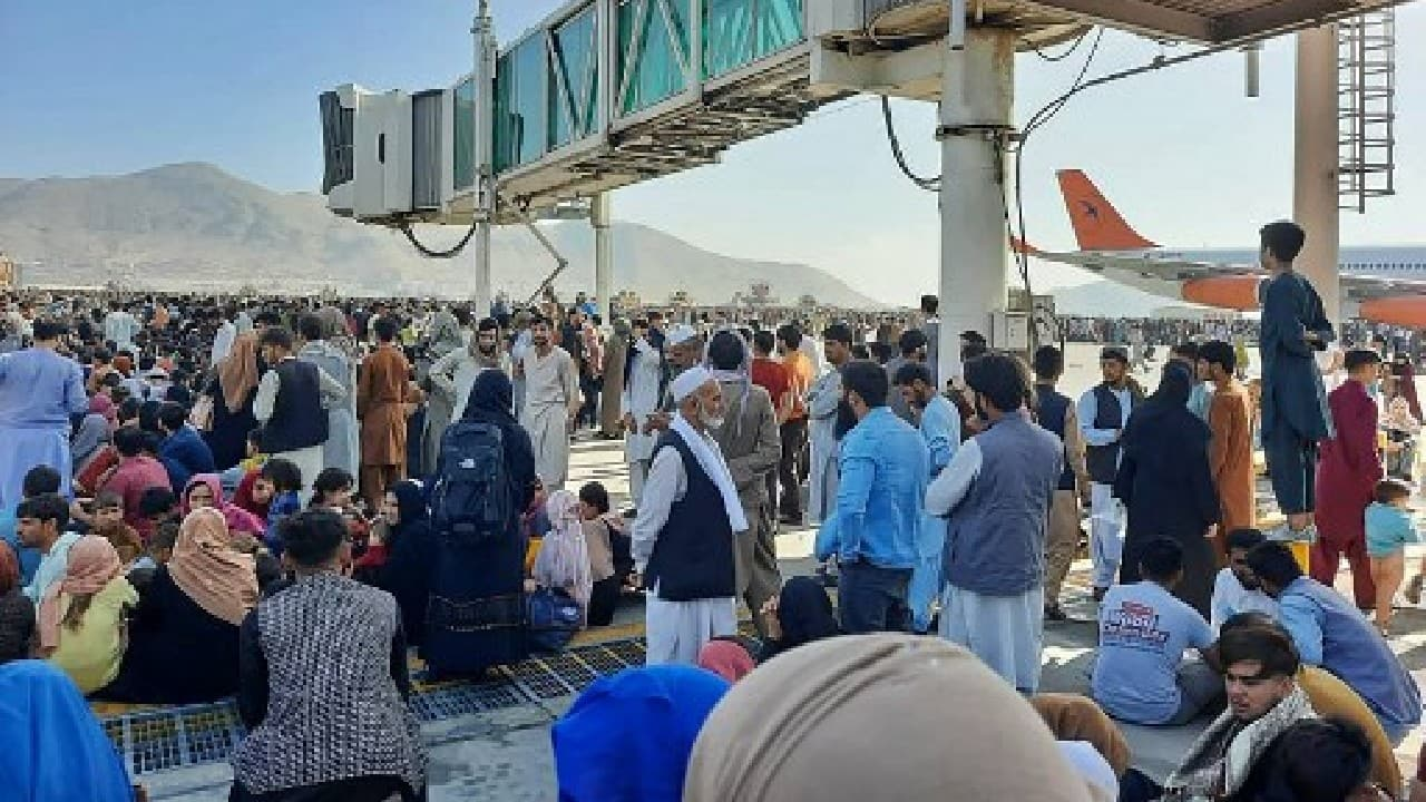All military and civilian flights halted at Kabul airport: Pentagon